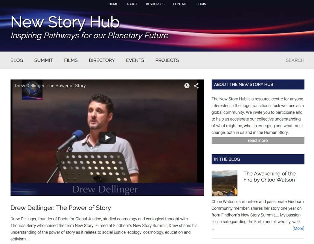 New Story Hub